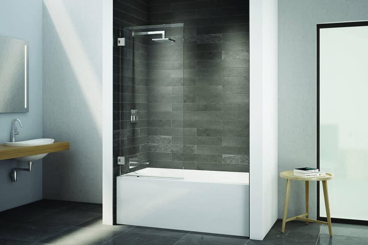 Écran de bain Select Carré de Fleurco