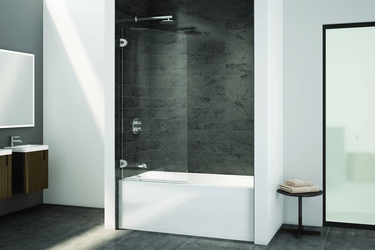 Écran de bain Select Solo rond de Fleurco