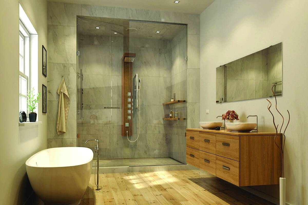 benhuot-baignoire douche et lavabos