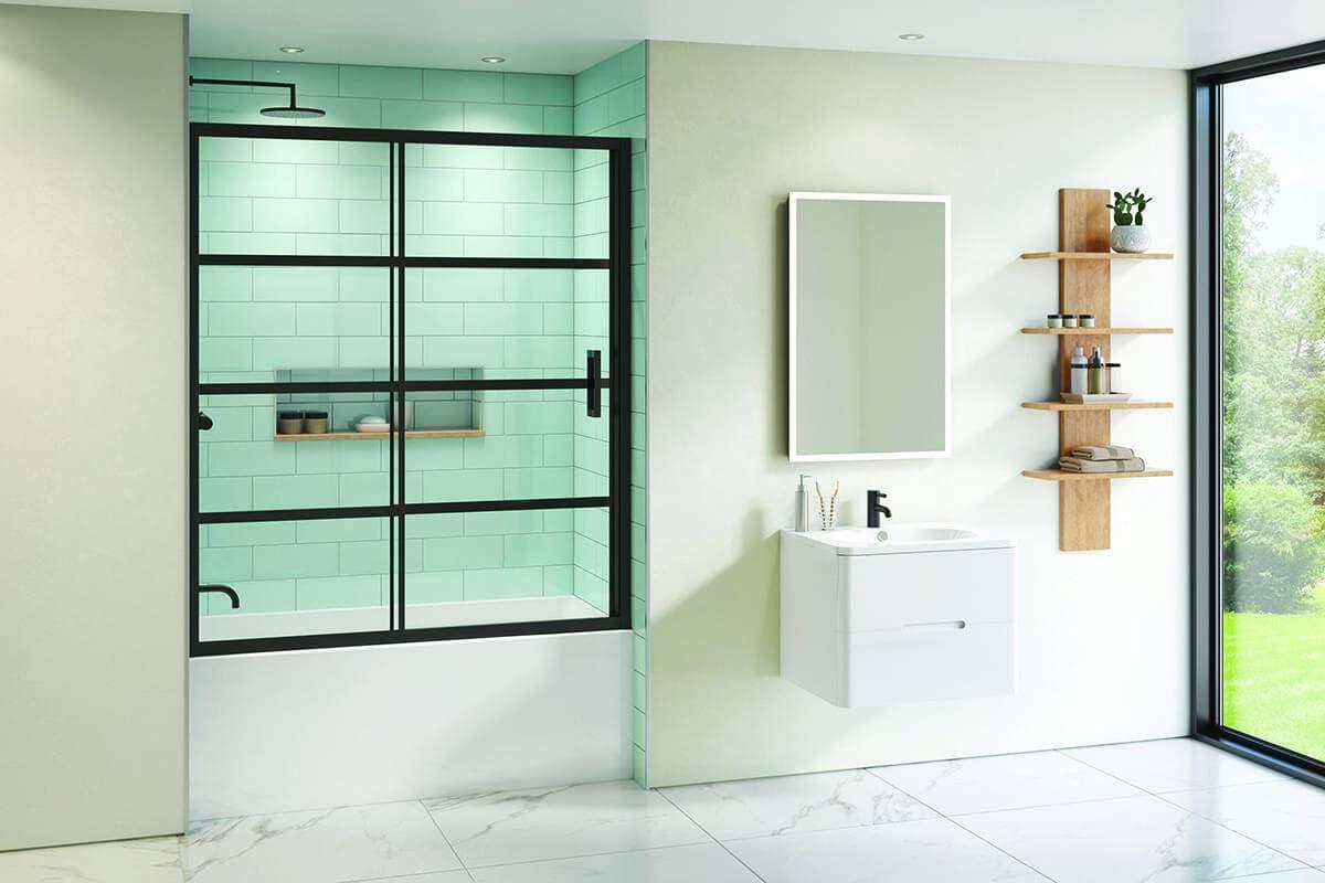Porte de bain-douche Latitude de Fleurco