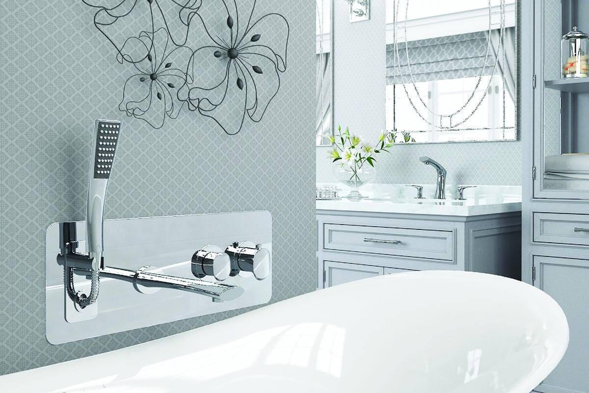 Robinet de bain mural Fluvia de Tenzo