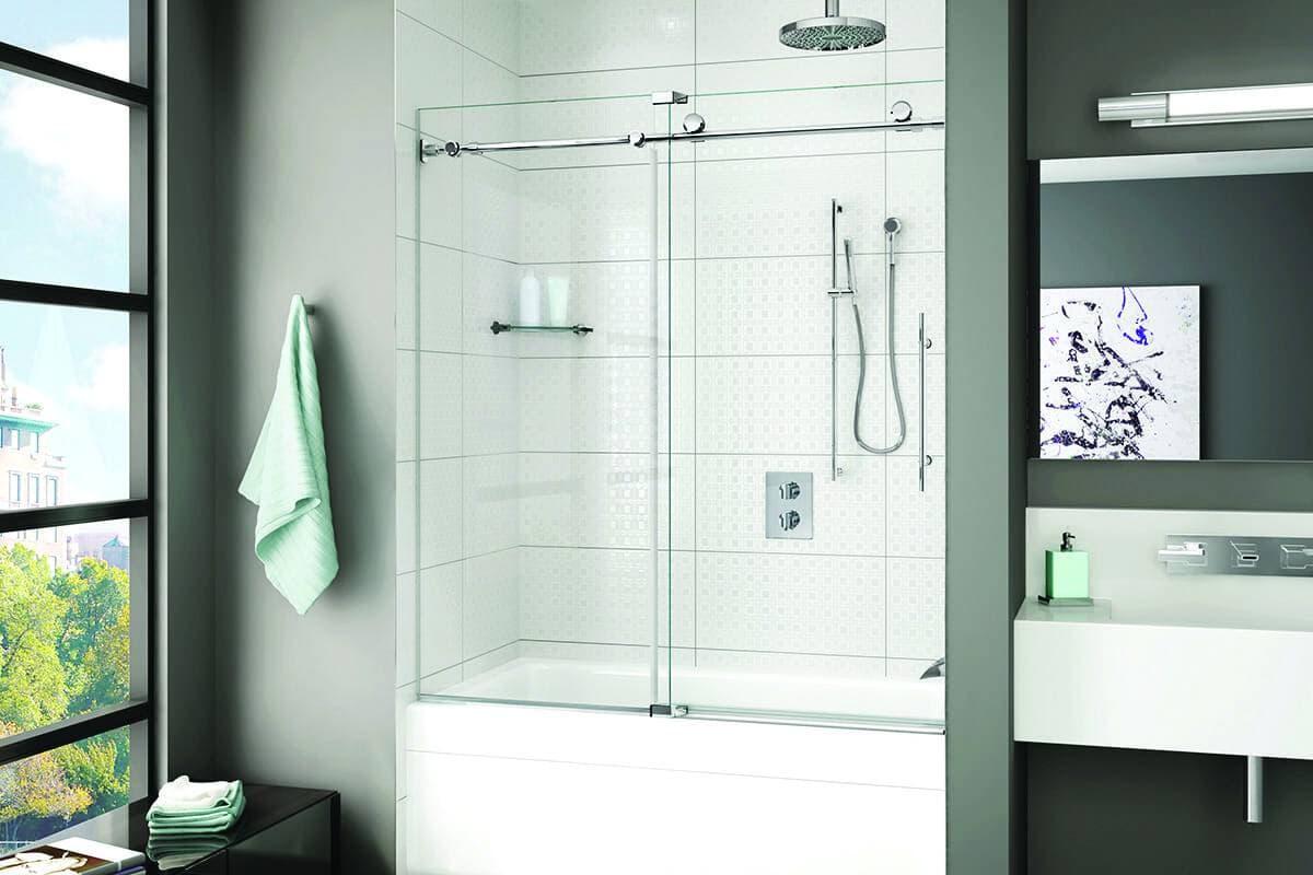 Porte de bain-douche K2 de Fleurco
