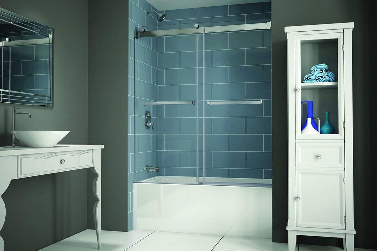 Porte de bain-douche Gemini Plus de Fleurco