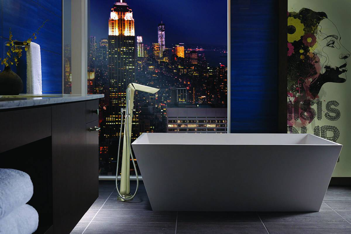 Robinet de bain autoportant Sotria de Brizo